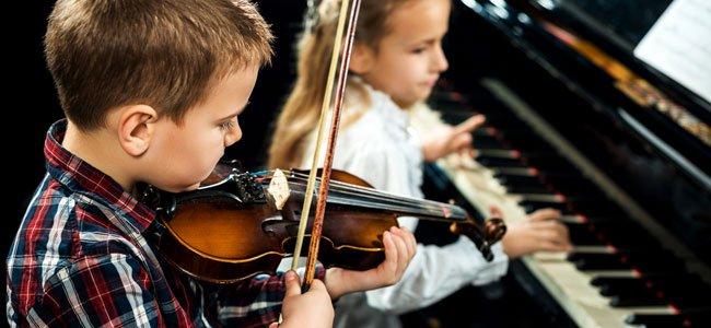 iniciar a un nino en la musica