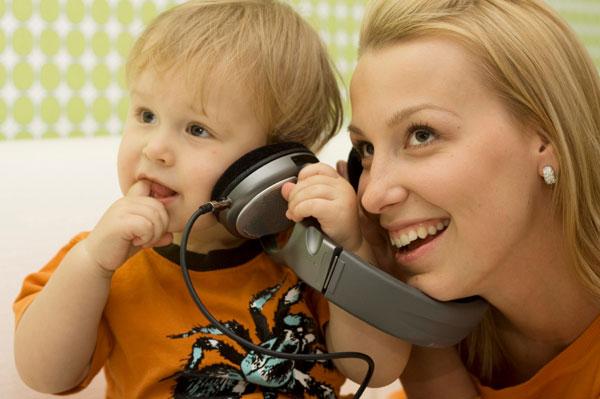 padres e hijos y la musica